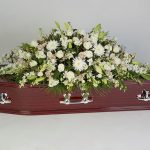 Wonderfully White Rosewood Floral tribute
