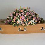 Feminine Touch Oak Floral tribute