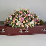 Feminine Touch Rosewood Floral Tribute