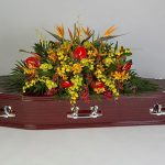 Tremendously Tropical Rosewood Floral Tribute