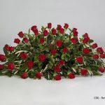 Rose Royale Casket Floral Tribute