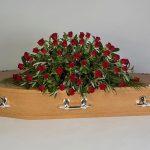 Rose Royale Oak Floral Tribute