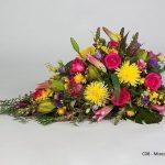 Mixed Seasonal Floral Tribute