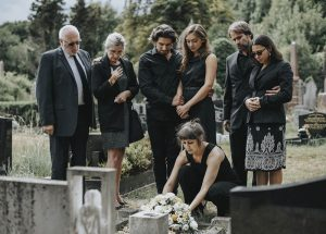 blog funeral mourners