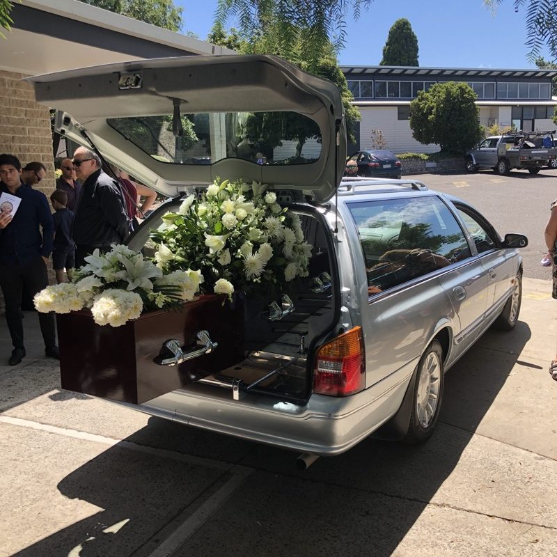 Browne Brothers Funerals Car